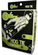 Whip Smart Hog Tie Black