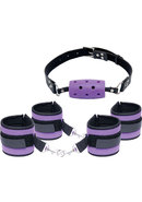 Fetish Fantasy Series Purple Pleasure Set Purple