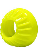 Oxballs Turbine Silicone Cockring Acid Yellow 1.75 Inch
