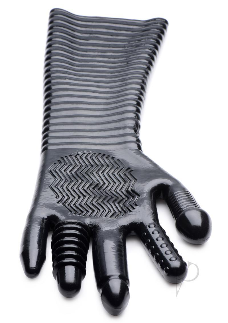 Ms Extra Long Textured Fisting Glove