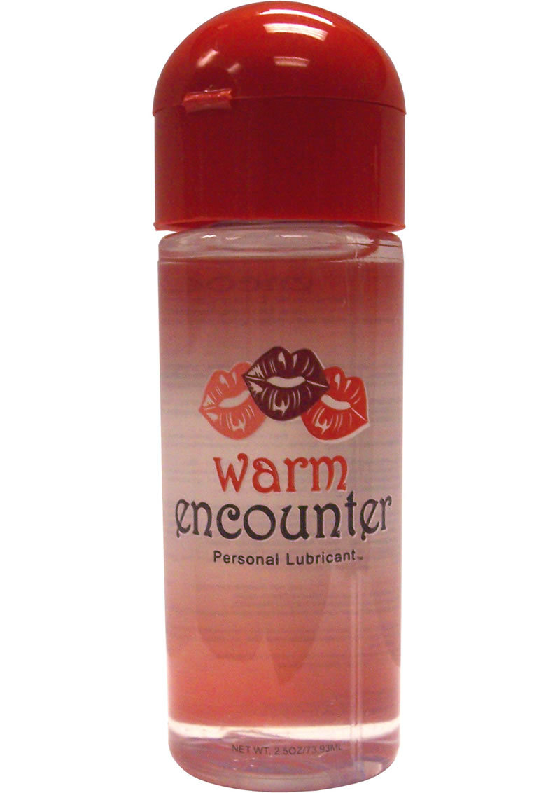 Encounter Warming Gel Water Based Lubricant 2.5 Ounce